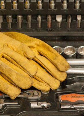 rękawice ochronne, rękawice spawalnicze