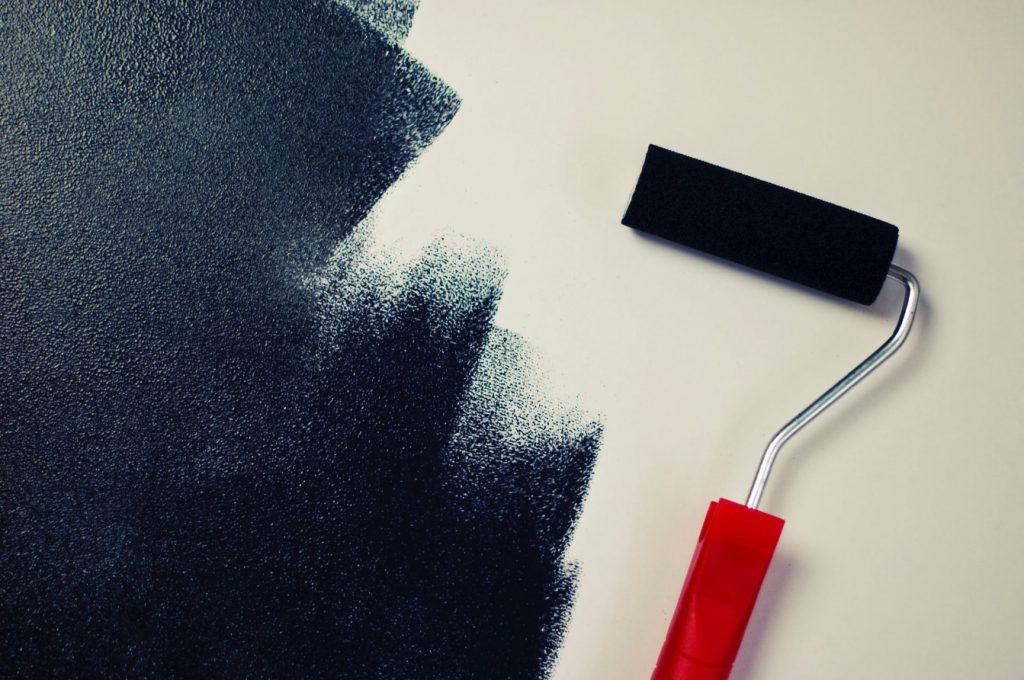 malowanie na czarno