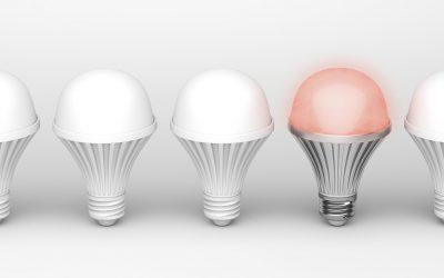 Zimne oraz ciepłe barwy żarówek LED